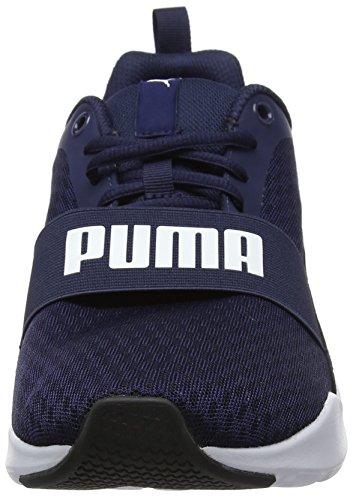 peacoat Blu Da Wired Ginnastica Scarpe – Unisex Basse puma Puma White peacoat Adulto wvqp6C8qE