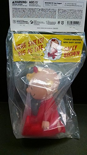 Peanuts Medicom 2014 VCD Vinyl Collectible Doll SALLY BROWN Vintage Ver.Figure