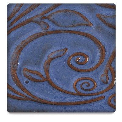AMACO Opalescent Glaze, Sapphire Blue O-23, 1 - Amaco Blue Glaze