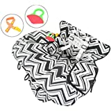 2-in-1 Shopping Cart Cover for Baby or Toddler | High...