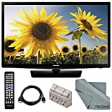 "Samsung UN28H4000 28"" 720p 60Hz LED TV and Accessory Bundle with Remote Control, HDMI Cable, and FiberTique Cleaning cloth"