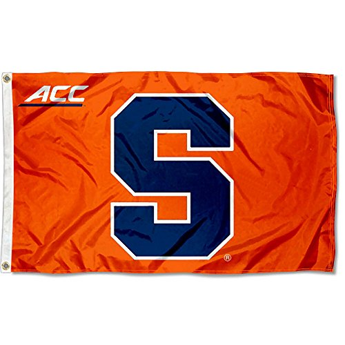 (College Flags and Banners Co. Syracuse University Orange Acc 3x5 Flag )