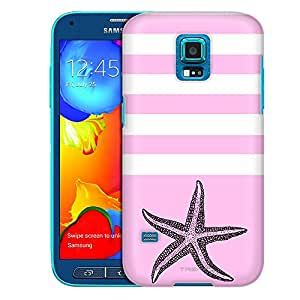Samsung Galaxy S5 Sport Case, Slim Fit Snap On Cover by Trek Starfish Pink Case
