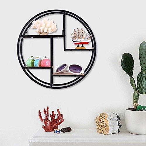 Buy metal wall rack circle