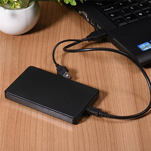 USB3.0 1TB External Hard Drives Portable Desktop Mobile Hard Disk Case Dreamyth,American Warehouse Shippment (Black)
