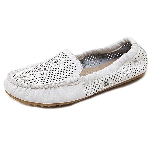 Mocasines Mujer, Planos Zapatos Cómodos Casual Slip-On: Amazon.es: Zapatos y complementos