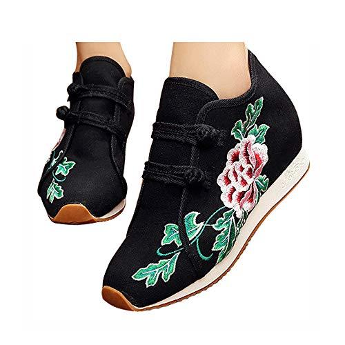 Chaussures À shortplush Old Peking Mode Noir De Respirant La Brodées L'usure Résistant Sport 57UqXw