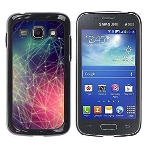Smartphone duro PC Carcasa Funda protectora para Samsung Galaxy Ace 3/Phone Case TECELL Store/Hipster Colors Pattern