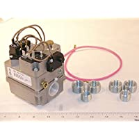 White Rodgers 36c84-945 Gas Valve, 3/4 X 3/4, 24 VAC, Redundant (Pilot) Valve, Fast Opening, LP Kit, One 24 Lead with Barrel And 1/4 Connectors by White-Rodgers