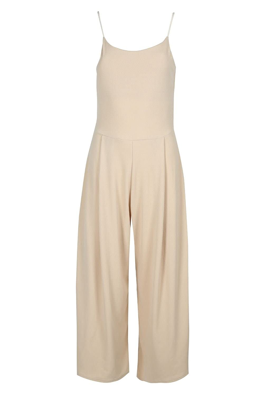 Wholesale Be jealous Women's Playsuit Ladies Strappy Palazzo Wide Leg Pant Trouser All in One Jumpsuit Plus Size UK 8-22 for sale