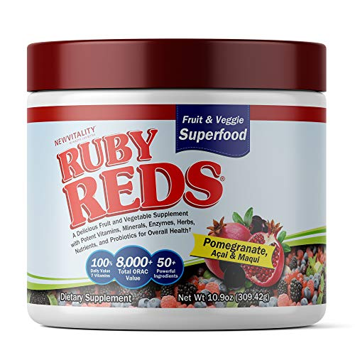 Ruby Reds   Delicious Reds Powder Fruit & Vegetable Supplement with Potent Vitamins, Minerals, Enzymes, Herbs, Nutrients and Probiotics for Overall Health 11