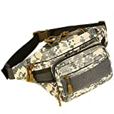 DYJ Tactical Waist Pack Bag Military Waist Pack Portable Fanny Packs Large Army Waist Bag for Daily Life Fishing Cycling Camping Hiking Traveling Hunting Shopping