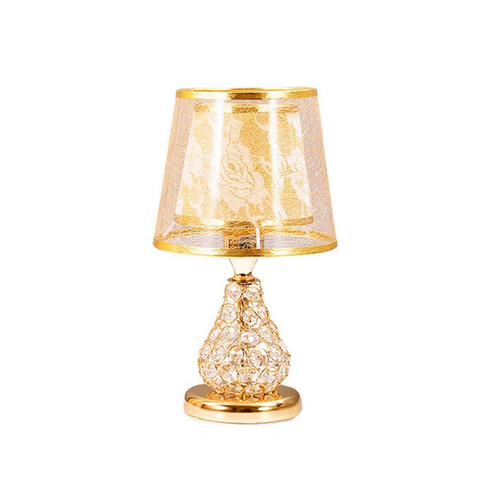 Europäische Luxus Kreative Tischlampe LED Augenschutz Leselampe Romantische Hochzeitszimmer Ins Nachtlicht Schreibtischlampe als Geschenk für Villa Schlafzimmer Wohnzimmer Bekleidungsgeschäft
