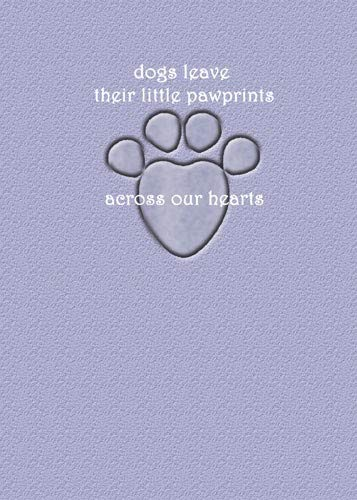 PIPS001 6pc Animal Pet Gifts, Dog Sympathy Card by PIPS001