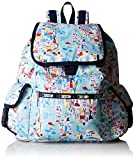 LeSportsac Voyager Back pack, Seaside Travel, One Size
