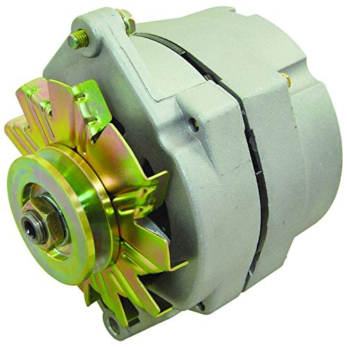 Chevrolet C2500 Alternator - New Alternator Replaces Delco 10SI 1 Wire Install 63A W/V Belt Pulley Buick Cadillac Chevy GMC Oldsmobile Pontiac 1100125