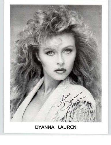 Dyanna Lauren Autographed Glos...