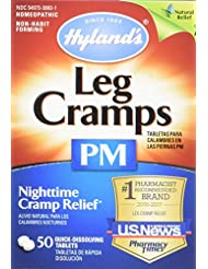 Hyland\'s Night Time Leg Cramps PM Tablets, Natural Cramp Pai...