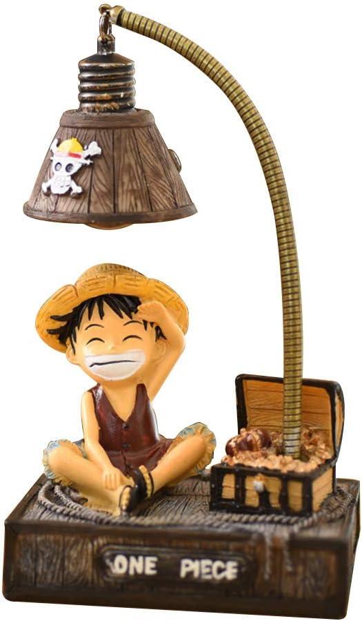 One Piece Nachttischlampe Ruffy Lampe zum Lesen