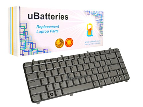 (UBatteries Compatible Laptop Keyboard Replacement For HP Pavilion dv5-1001tx (Silver))
