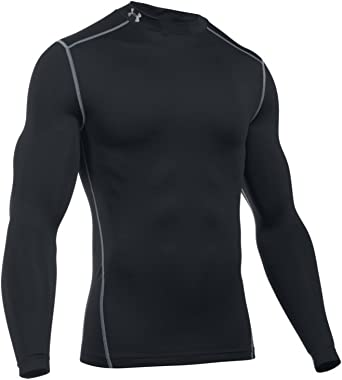 Under Armour Men ColdGear Compression Mock Long Sleeve T-Shirt