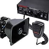 SoundAlert 12V 100W Police Siren PA System [Bull