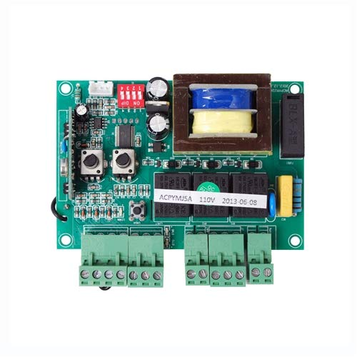 aleko pcbac2400/1500 replacement circuit control board for sliding gate  opener ac1500 ar1550 ac2400 ac2450: amazon.in: home improvement  amazon.in