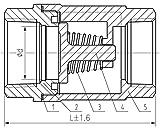 Duda Energy VCV-WOG1000-F100 Vertical Check
