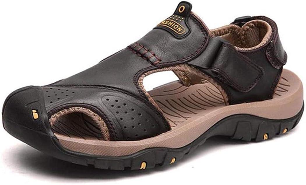 Classic Men Soft Sandals Comfortable Men Summer Shoes Leather Sandals