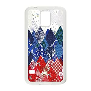 Sochi 2014 Olympics Russian Pattern Samsung Galaxy S5 Cell Phone Case White phone component AU_462415