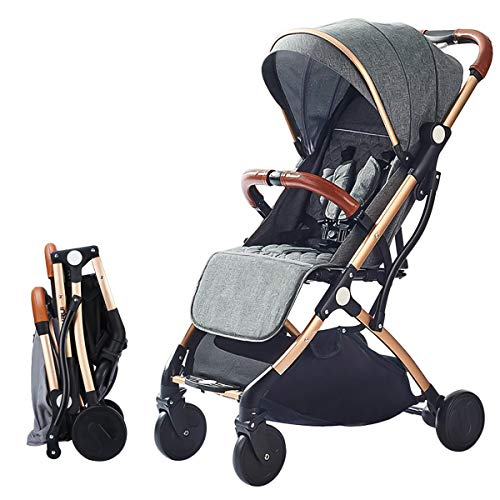 SONARIN Lightweight Stroller,Compact Travel Buggy,One Hand Foldable,Five-Point...