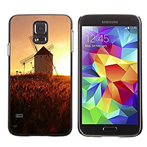 LECELL -- Funda protectora / Cubierta / Piel For Samsung Galaxy S5 SM-G900 -- Sunset Beautiful Nature 45 --