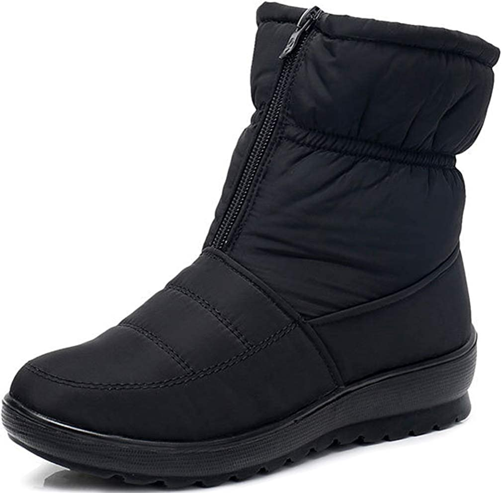 Solshine Women's Warm Lined Ankle Boots