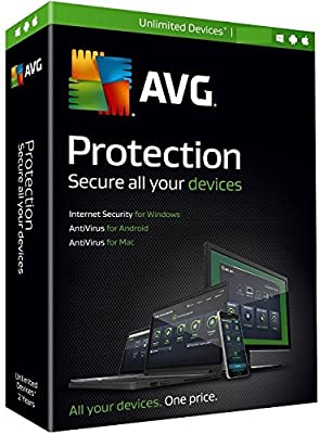 AVG 2016 Protection 1Yr Unlimited Devices BIL