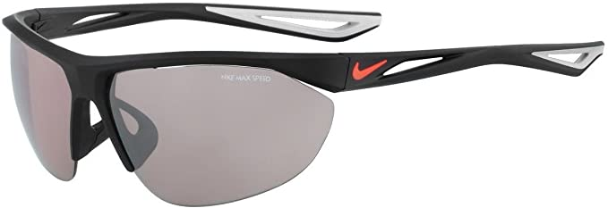 c62c4ab18c7c Amazon.com: Nike EV0948-006 Tailwind Swift E Frame Speed Tint Lens  Sunglasses, Matte Black/Bright Crimson: Sports & Outdoors