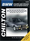 img - for BMW Coupes and Sedans, 1970-88 (Chilton Total Car Care Series Manuals) book / textbook / text book