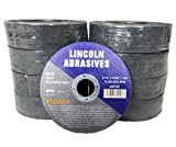 200 Pack 4.5'' Cut-Off Wheels Lincoln Abrasives .040'' Metal & Stainless Steel