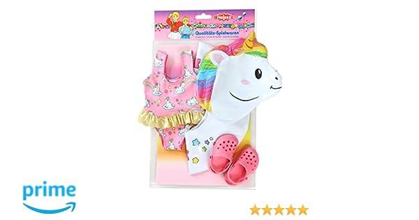 Amazon.es: Heless 66 - Juego de natación para muñecas, Unicornio ...