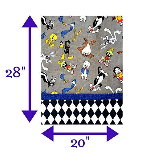 Looney Tunes Handmade Cotton 20 x 28 Twin Pillowcase