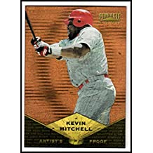 1997 Pinnacle Artist's Proofs #PP33 Kevin Mitchell B - NM-MT