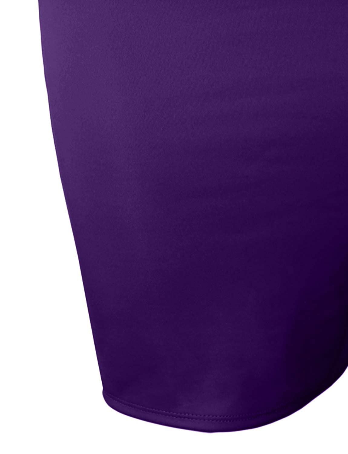 NE PEOPLE Womens Stretch Bodycon Midi Office Pencil Skirt Made in USA