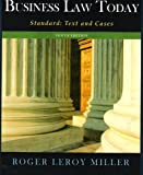 img - for Business Law Today Standard: Text and Cases 10th (tenth) edition book / textbook / text book