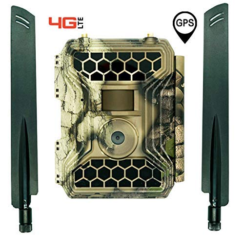 4GLTE Cellular Trail Camera Snyper - Commander 4GLTE Trail Camera 12MP/1080P Wireless Trail Camera with 2' LCD Screen - Sends to Any Network Phone. GPS Camera Tracking.