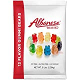 Albanese 12 Flavor Gummy Bears, 5 pounds