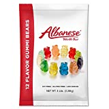 Albanese Candy, 12 Flavor Gummi Bears, 5 Pound Bag offers