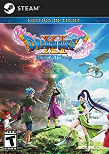 DRAGON QUEST XI: Echoes of an Elusive Age - Digital Edition of Light - PS4 [Digital Code] Square Enix