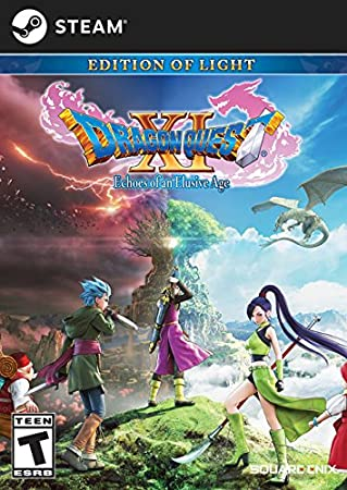 DRAGON QUEST XI: Echoes of an Elusive Age- Digital Edition of Light [Online Game Code]