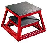 Ader Plyometric Platform Box Set- 6'' & 12'' RED