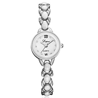 Femme Cadran Montres Femmes Angelof Bracelet Montre Acier Diamant HWD92EIY
