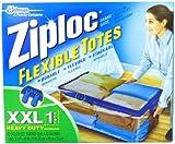 Ziploc Flexible Totes, XXL Qty: 1, Health Care Stuffs